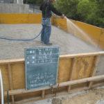 シロアリ防除のための土壌処理