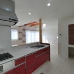 キッチン横にキャットスペース