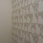 トイレの壁紙、拡大!